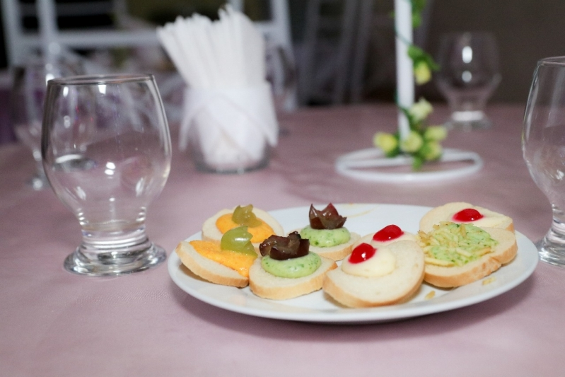 Buffet com Espaço para Festa de Empresa Castelo Branco - Espaço para Festa de Casamento