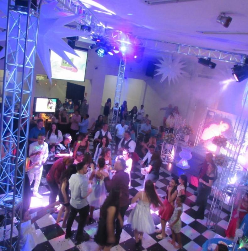 Espaço para Festa Corporativa Local Bonança - Espaço para Festa de Debutante