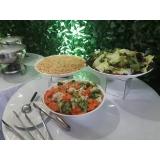 alugar espaço para festa com buffet Jandira