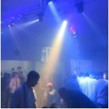 buffet com espaço para festa corporativa Helena Maria