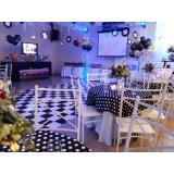 encontrar espaço para evento e festa Jardim Roberto