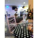 espaço para evento e festa orçamento Jardim das Flores