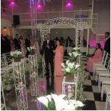 espaço para festa de bodas local Bussocaba