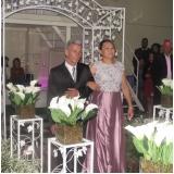 espaço para festa de bodas Jardim Platina