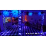 espaço para festa de empresa local Vila Menck