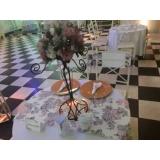 lugar com espaço para evento com buffet Pestana