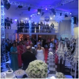 preço do aluguel de salão para casamento completo Jardim Piratininga