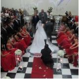 preço do aluguel de salão para casamento decorado Pestana