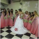salão para casamento decorado Santo Antônio