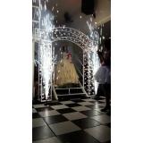 salão para debutante simples Jardim Veloso