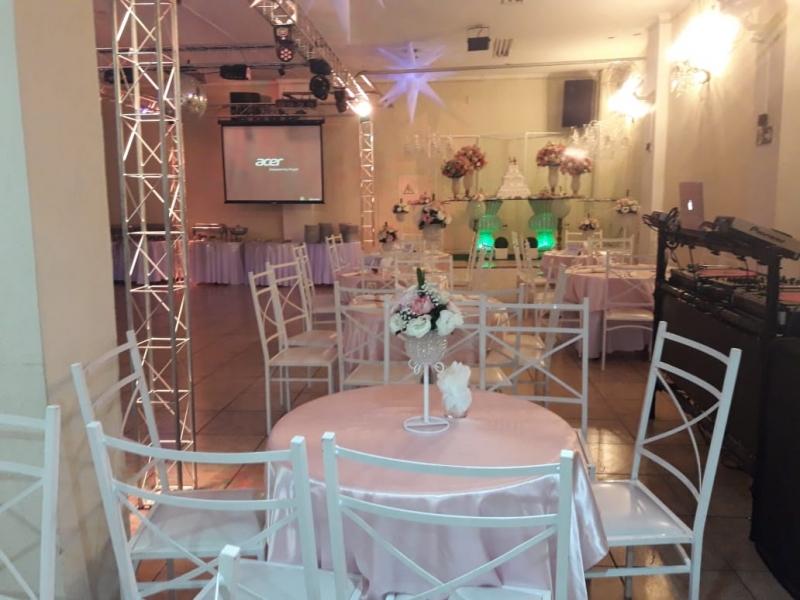 Preço do Aluguel de Salão para Bodas de Casamento Ayrosa - Salão para Casamento Festa