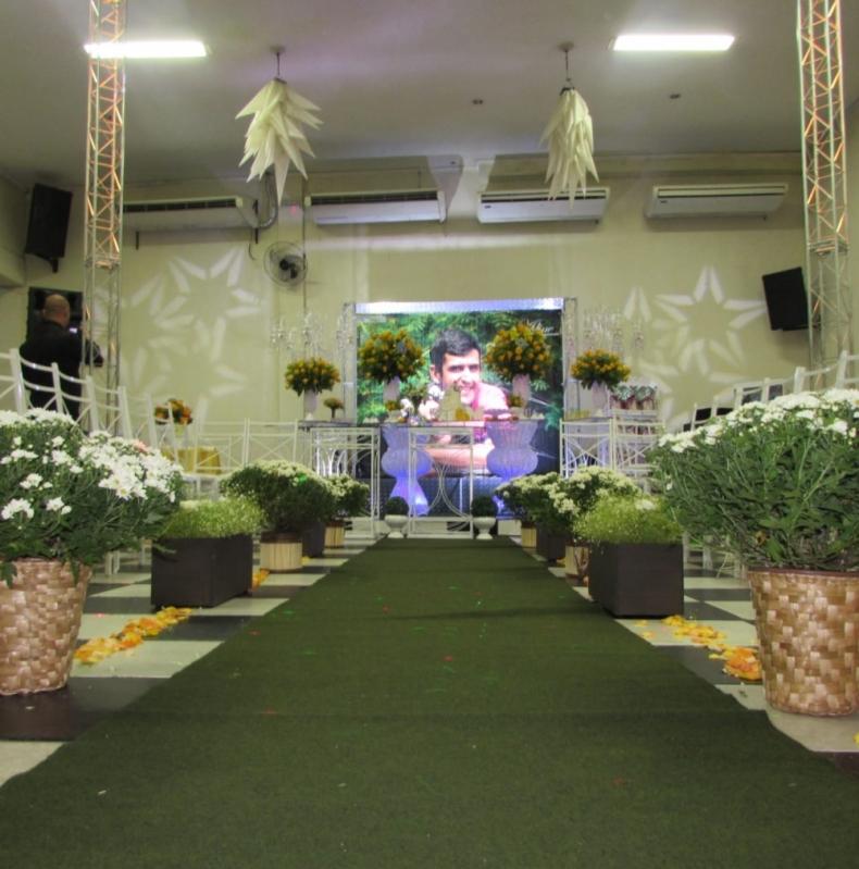 Salão de Festa Rústico Custo Setor Militar - Salão de Festa de Confraternização