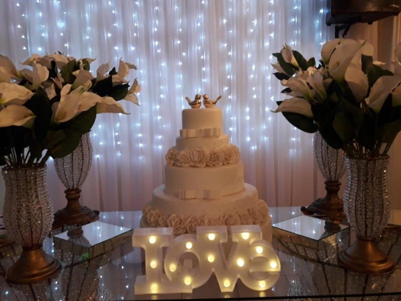 Salão para Bodas de Casamento Mais Próximo Vila Yara - Salão para Casamento com Buffet