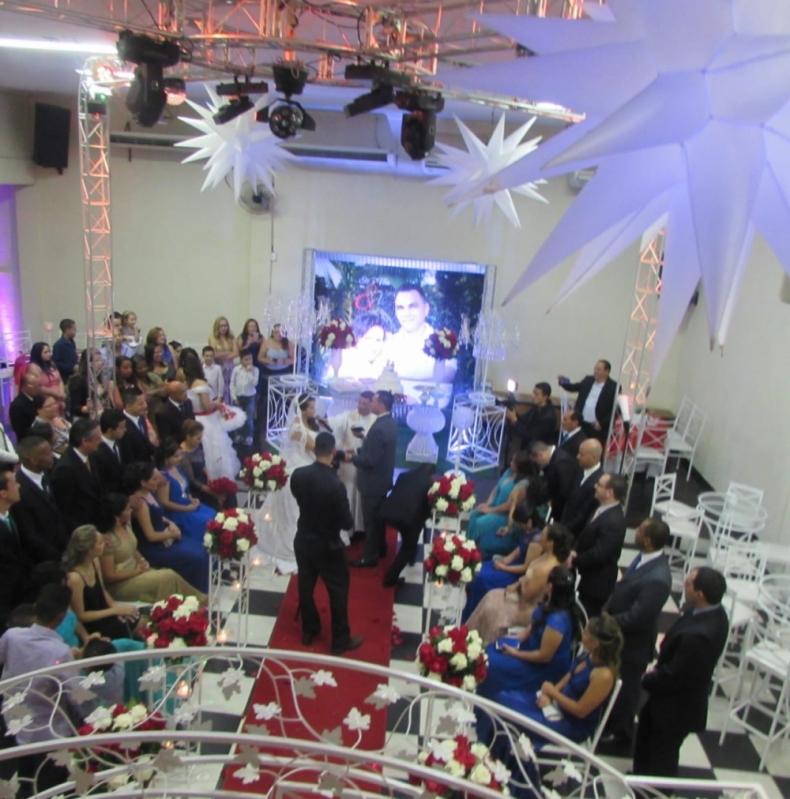 Salao para Casamento Decorado Mais Próximo Cotia - Salão para Casamento Simples