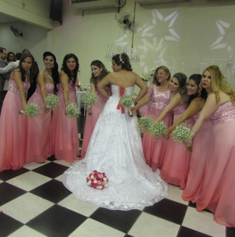 Salão para Casamento Decorado Cidade das Flores - Salão para Casamento Grande