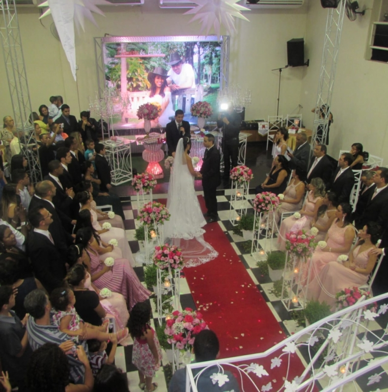 Salão para Casamento Grande Mais Próximo Setor Militar - Salão para Casamento Simples