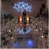 buffet com espaço para festa de bodas Jardim Elvira
