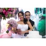 buffet com espaço para festa de casamento Vila Menck