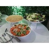 encontrar espaço para evento com buffet Jardim Piratininga