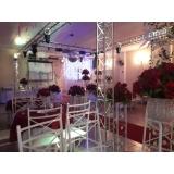 espaço para evento pequenos Santa Maria