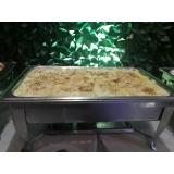 espaço para festa com buffet Vila Yolanda