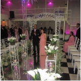 espaço para festa de bodas local Vila Yolanda