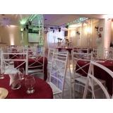 espaços para evento social Jardim Elvira