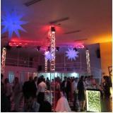 espaços para festa e evento Santa Fé