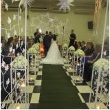 onde tem salão para casamento completo Bonança
