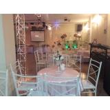 preço do aluguel de salão para bodas de casamento Santo Antônio
