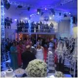 preço do aluguel de salão para casamento completo Jardim Elvira