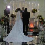 preço do aluguel de salão para casamento simples Jardim das Flores