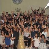salão de festa de confraternização custo Vila Yolanda