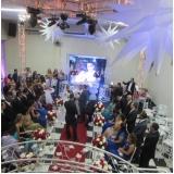 salão para casamento decorado mais próximo Jardim Elvira