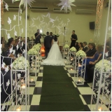 salão para casamento festa valor Vila Menck