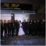 Salão para Casamento com Buffet de Churrasco