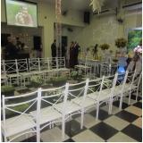 Salão para Casamento com Decoração